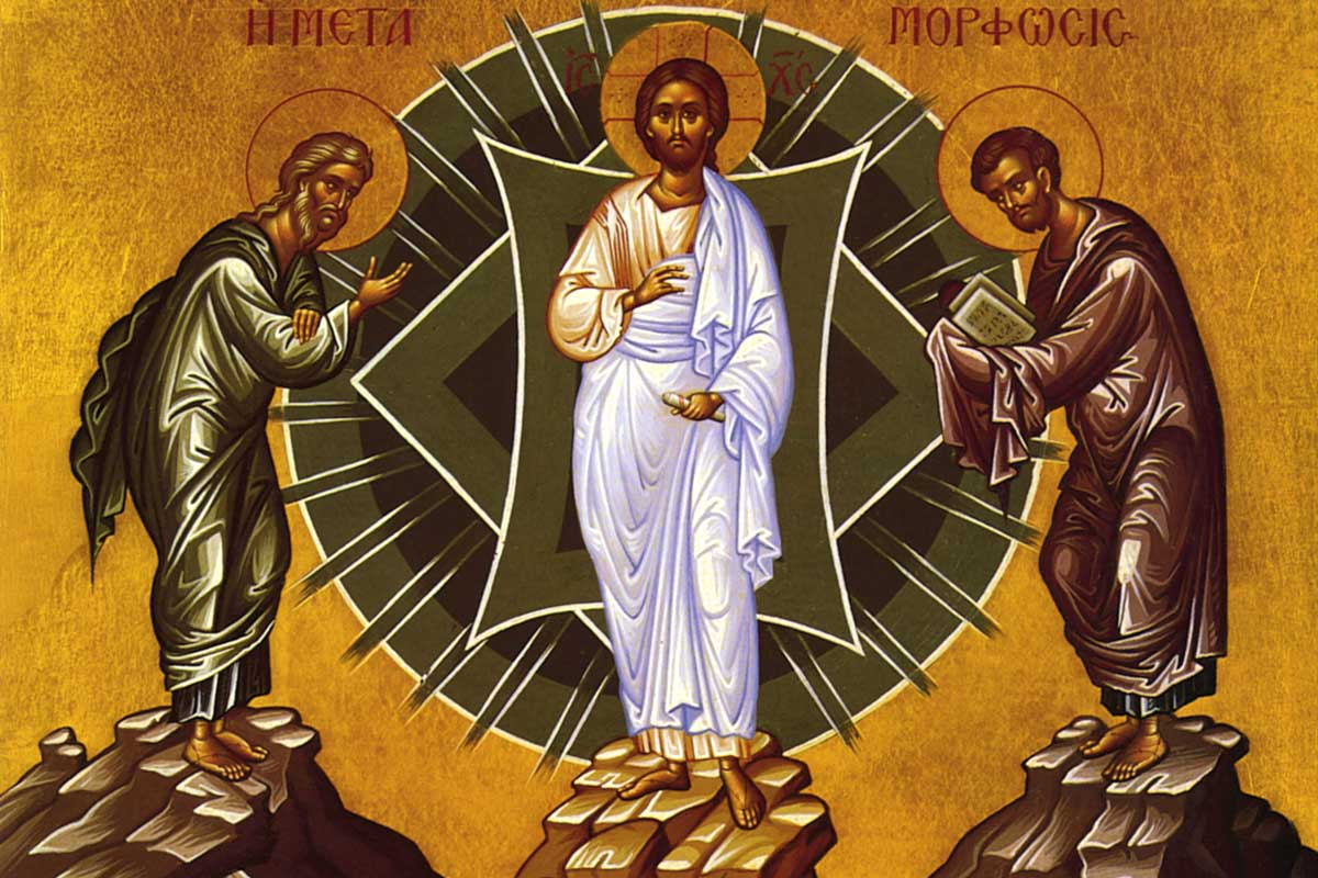 Feast Of The Transfiguration Of Jesus Christ At
