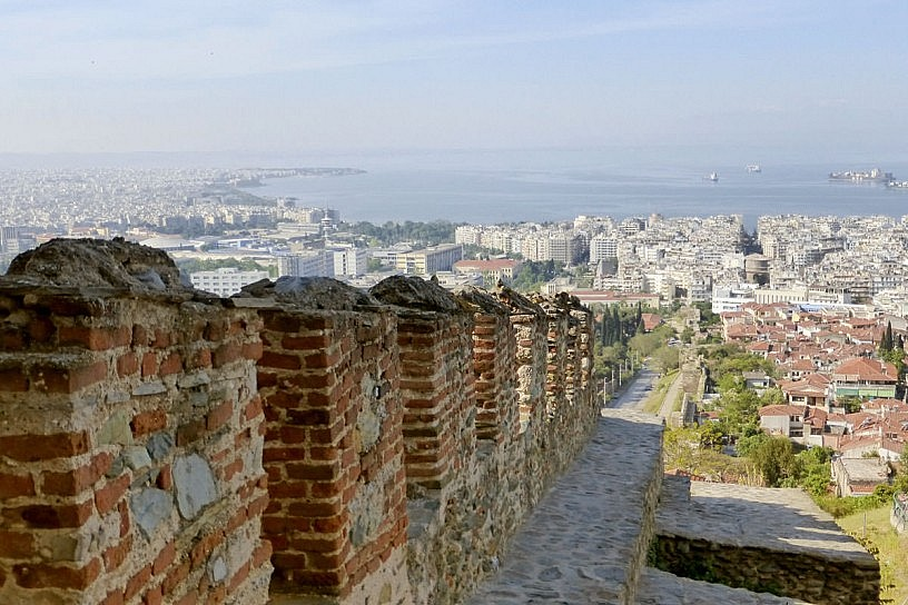 Thessaloniki from the Battlements
