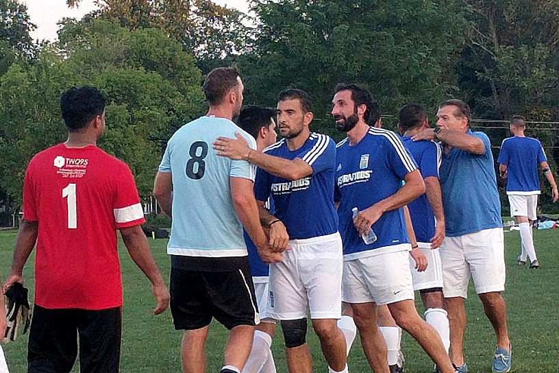Team Greece takes out Team India in Preseason Action