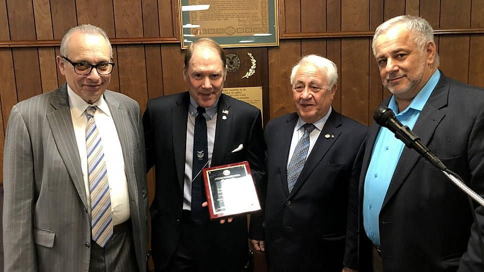 AHEPA First and New Horizons Parties Meet