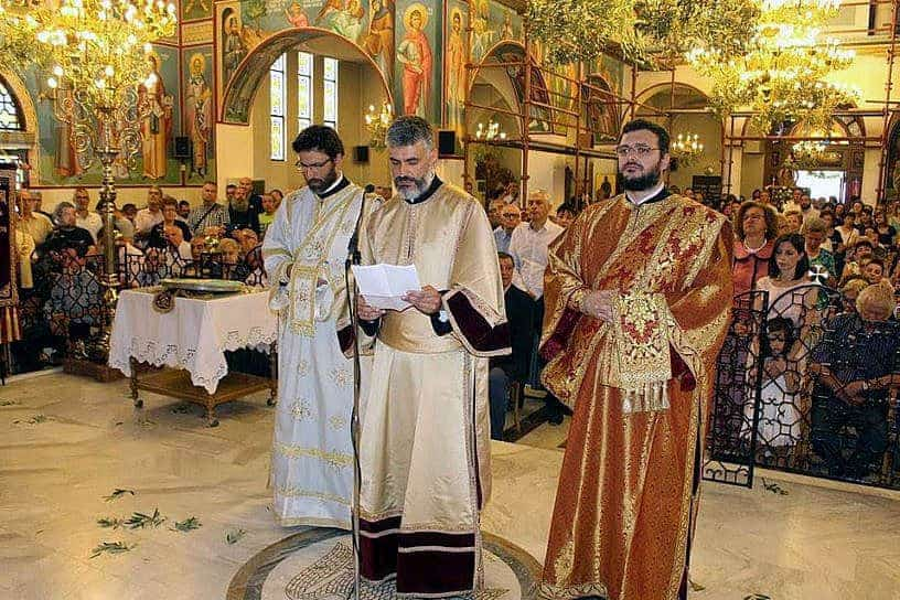 Dr. Grammenos Karanos Ordained to the Holy Diaconate