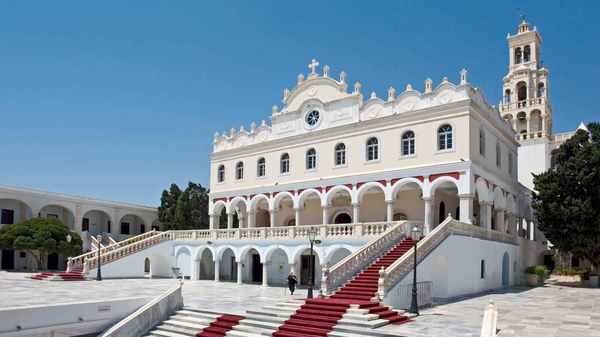 Panagia Evangelistria, Tinos