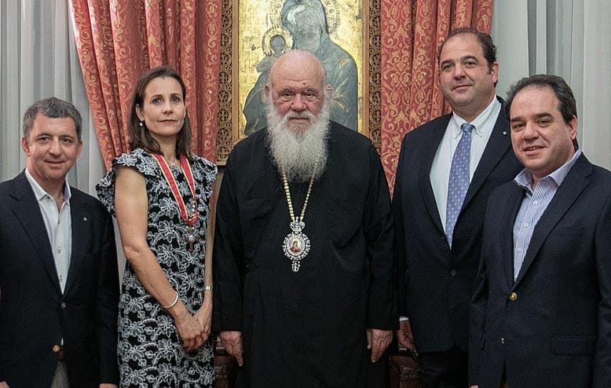 Archbishop Honors IOCC Benefactor