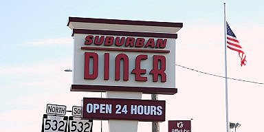 Season's Greetings from Suburban Diner