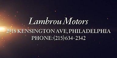 Season's Greetings from Lambrou Motors