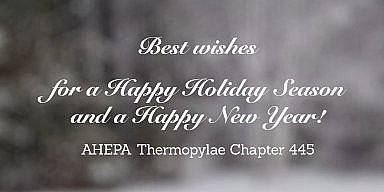 Season's Greetings from AHEPA Thermopylae Chapter 445