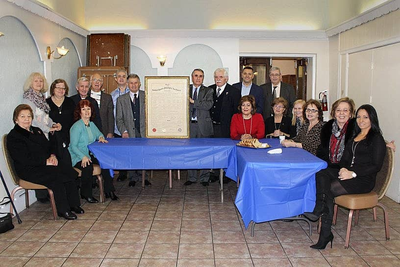 "Epirotes of Philadelphia ""Omonia"" – New Leaders and Vasilopita Cutting"